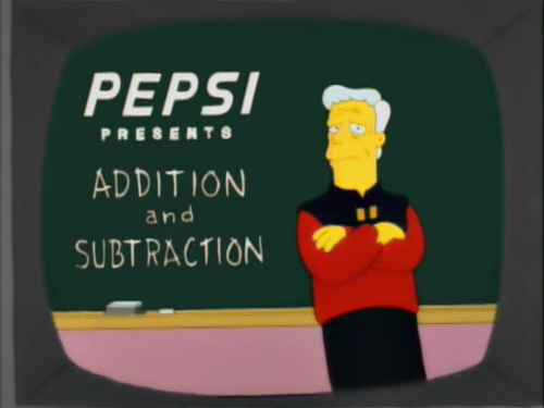 pepsi add and subtract